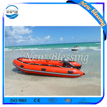 China Portable Inflatable Electric Boat with Outboard