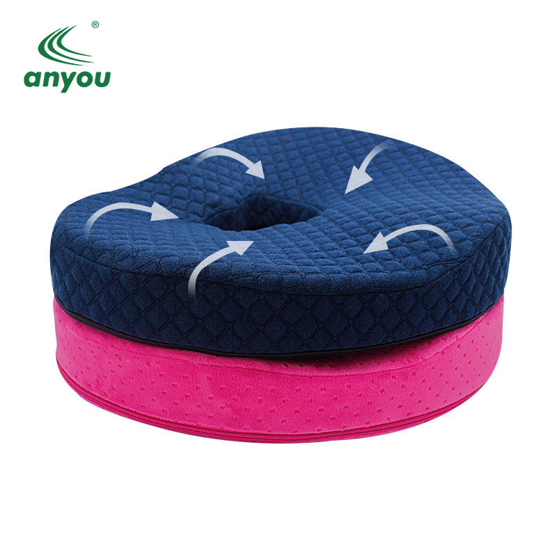 Best-selling coccyx orthopedic foam seat cushion