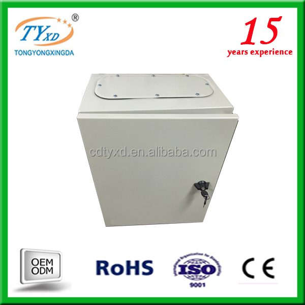 2015 china supplier OEM metal electrical control panel box