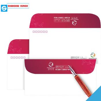 Custom paper invitation letter envelope with logo in all materials custom paper invitation letter envelope with logo in all materials for office use stopboris Choice Image
