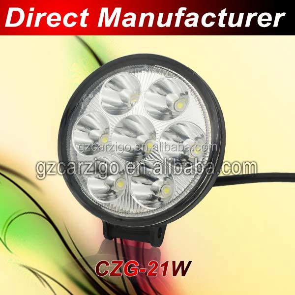 most bright IP67 water proof trailler Truck accessories 5300K 5400 5500K atv parts led work light