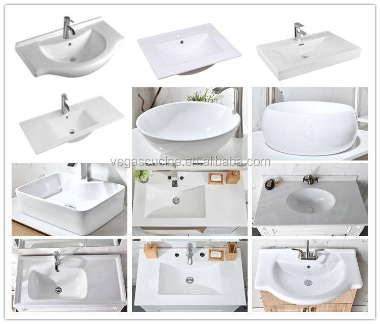 ออสเตรเลียขายร้อนShaker MDFติดตั้งHandless Modern Luxuryห้องน้ำVanity