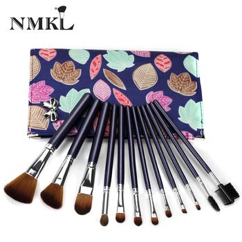 Nmkl 12pcs Top Quality Synthetic Wholesale Professional Handmade Vegan  Makeup Brush Set - Buy Vegan Makeup Brush Set,Handmade Makeup Brush