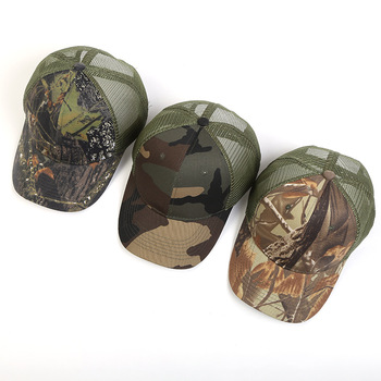 45324837380 2018 100% Cotton Fitted Military Army Cadet Cap Comfortable Camouflage Hat