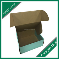 Carton shipping corrugated paper box packaging with logo printing wholesale