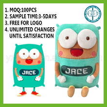 Factory direct cheap designed custom made plush toys for kids