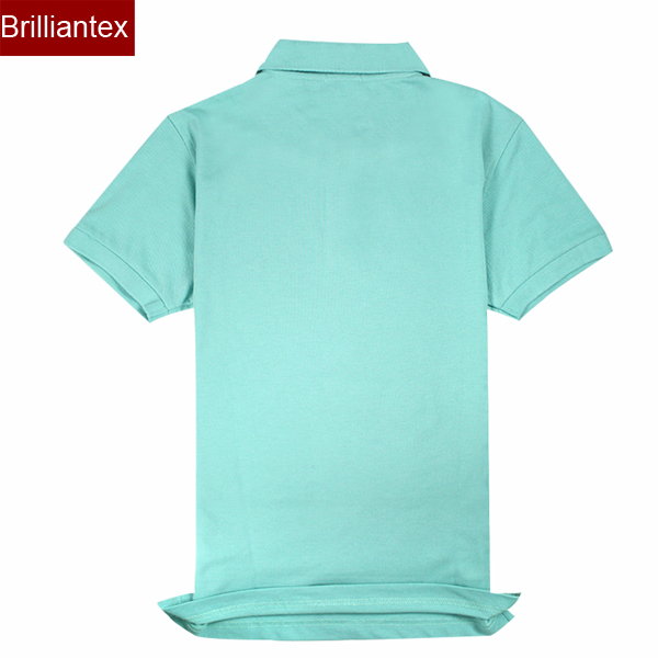 Plain Green Uniform Egyptian Cotton Polo Shirts