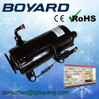 zhejiang boyard r404a r134a refrigeration compressor unit aspera embraco refrigeration compressor for plate freezer for shrimp