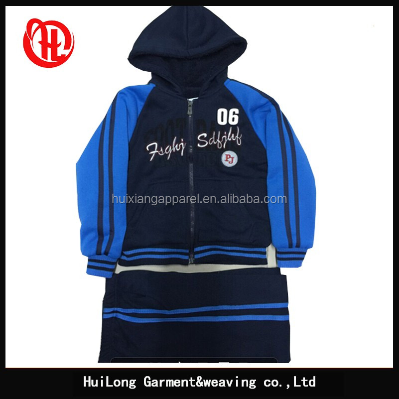7685ad8e13152 Fábrica poliéster invierno niños fleece ropa deportiva set Kids niños