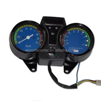 48v Meter Electric Battery Rickshaw Spare Parts Speedmeter ...