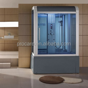 Steam Bath Mage Tub Combination Double Shower