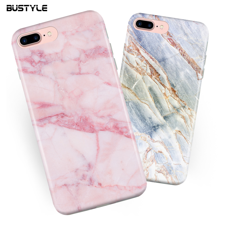 Can custom logo IMD cell phone design pink color marble tpu soft imd phone case for iphone 7 imd case for iphone 6s plus