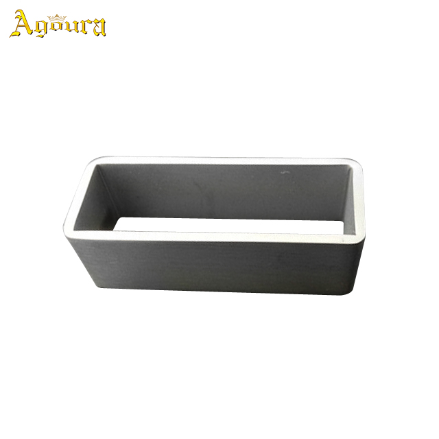 New Product OEM Smooth Rectangle Anti-allergy Titanium Belt Buckle 35mm Titanium Belt Buckle+ Belt loop