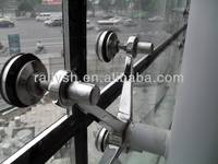 Stainless Steel Glass- Curtain -Wall, Fin Spider Fitting structural glass curtain walls