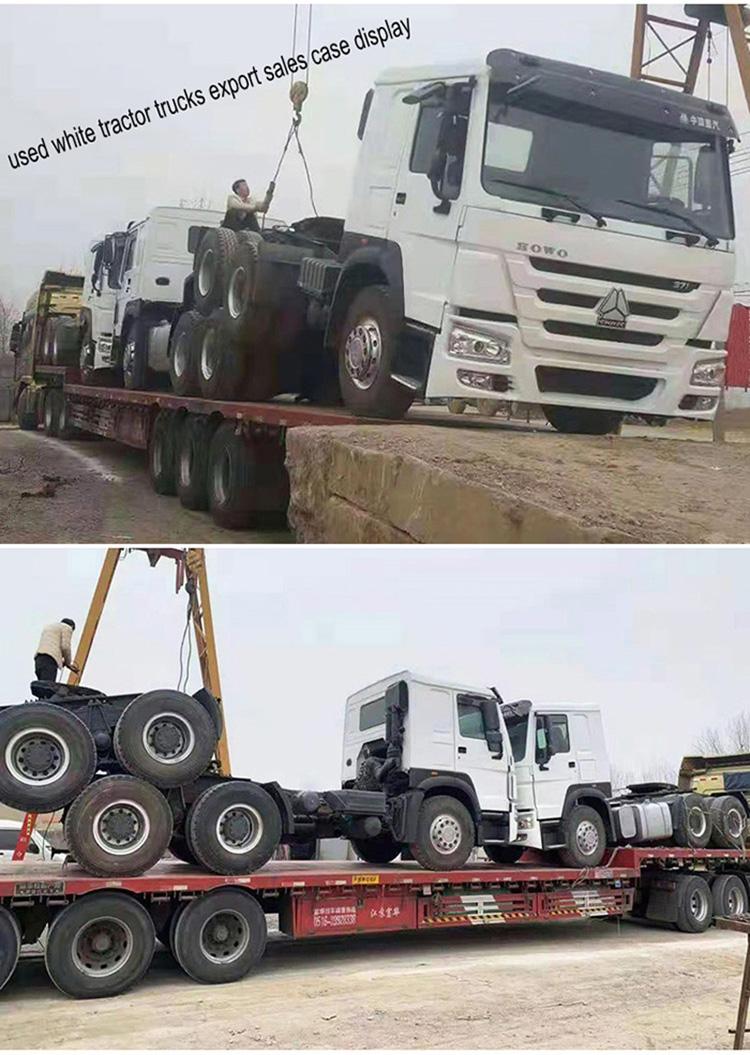 高品質 sinotruk howo 6*4 40ton 右手ドライブ使用 Euro2 トラクターヘッドトラック