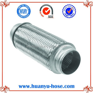 exhaust muffler flex pipe woven flexible tube exhaust pipe tube