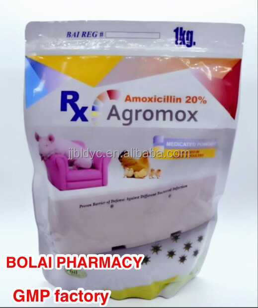Veterinary for Chickens Antibiotics 20% Amoxicillin premix