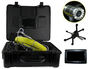 Recording, Keyboard, Pipe Survey Camera Inspection with ABS case