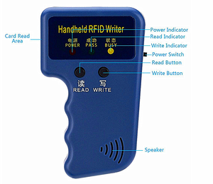 Factory price 125khz LF handheld rfid reader /writer