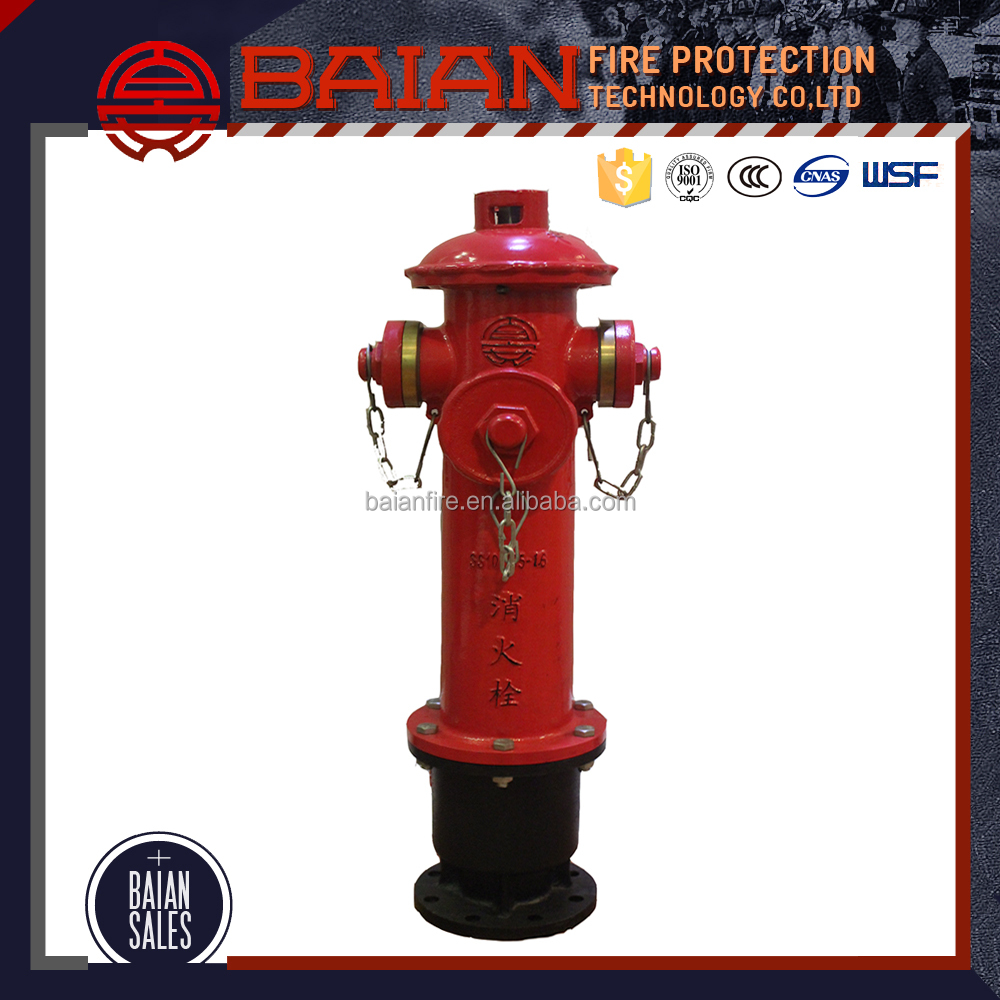 High Quality Water Power Wet Barrel Fire Hydrant Low Prices