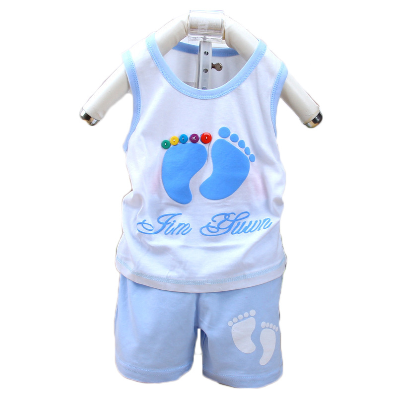 18 pcs Summer Style New Newborn Baby Girl Clothes Baby Clothing Set Vest Kids Foots Sets Baby Boy Casual Suits Girls Summer Sets