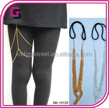 Yiwu Cheap Price Wholesale Gold Leg Chain Body Chain Jewelry Chain ...