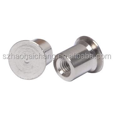 Metal Fasteners Aluminum Extrusion Profile Hollow Screw
