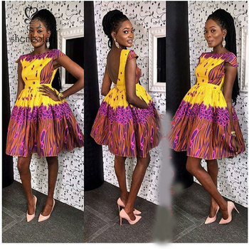 African Print Style Dress PatternsAfrican Fashion Designs Dress Simple African Dress Patterns