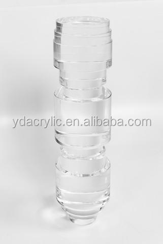 hot sell high polished clear acrylic antique table legacrylic legs for furnitureacrylic acrylic legs furniture acrylic legs