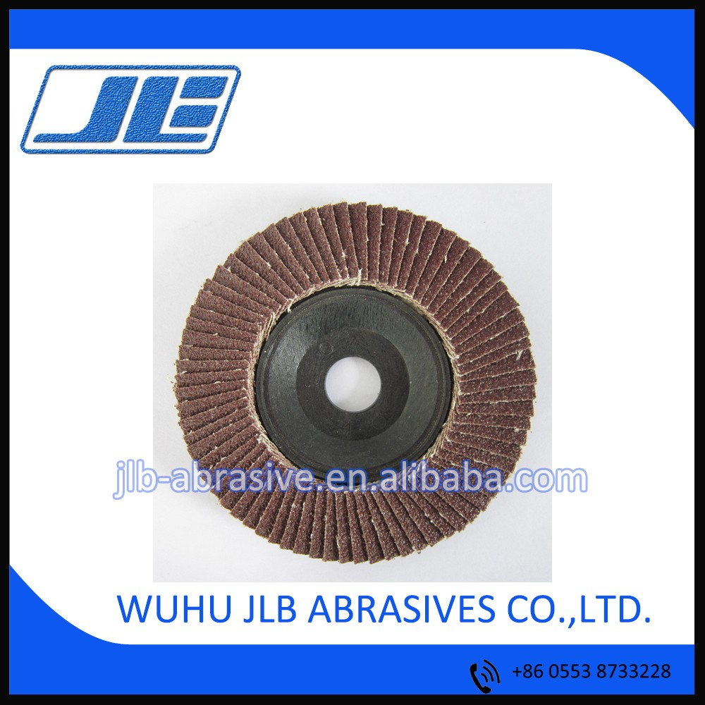 Size 16*100mm Grit 40#-400# Aluminium Oxide Abrasive Flap Wheel for Grinding