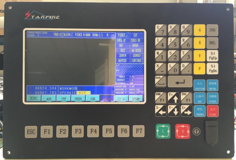 Cnc Plasma Cutting Machine Sf 2100 Starfire Plasma Cnc