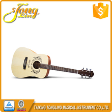 [TL0060]Tongling Guitar Factory 41Inch Log Colour Acoustic Guitar With Guitar Pick