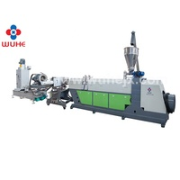 China good performance plastic pp pe pellets recycling line with high efficient