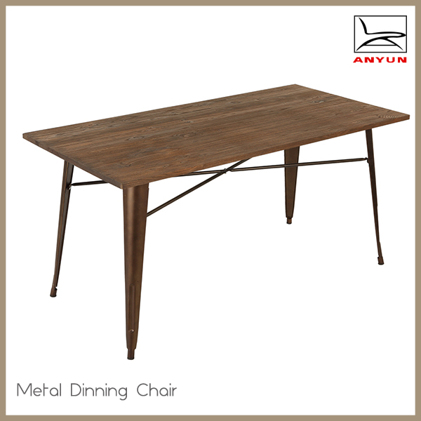 Cheap Square Wooden Dining Table And Metal Chair Set Buy Square Table Woode