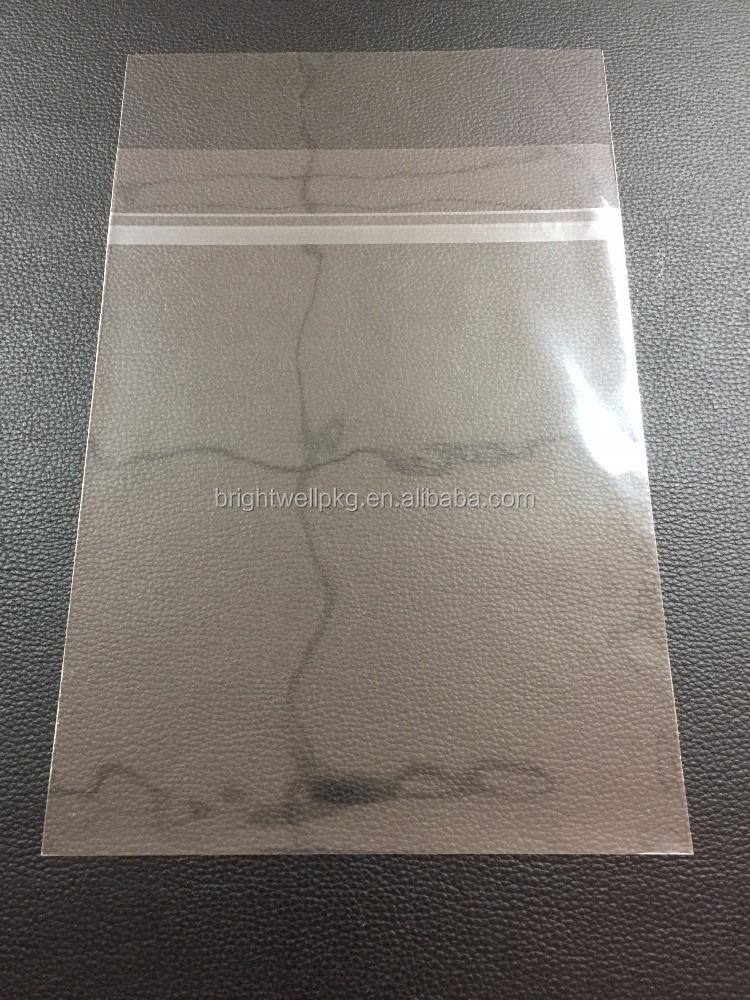 Greeting Card Bags with Peel and Seal Lip