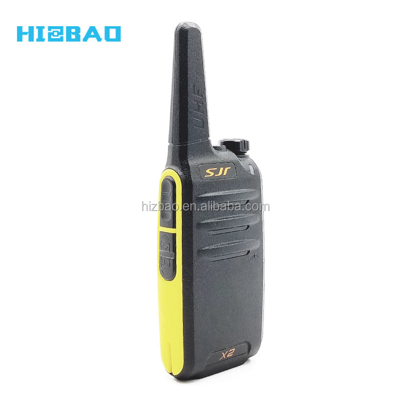 Small Size Mini UHF Digital Radios Two Way Long Range Walkie Talkie for Director and Scurity Guard