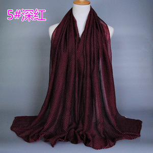 Cheap price newest style muslim scarf hijab