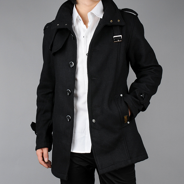 Rock A Gray Hat And Leather Jacket For Fall: Discount Mens Winter Jackets