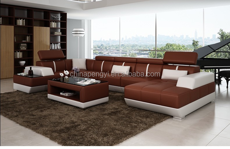 Fashionable Round Shape Modern New Design Corner Sofa Set Designs And Prices
