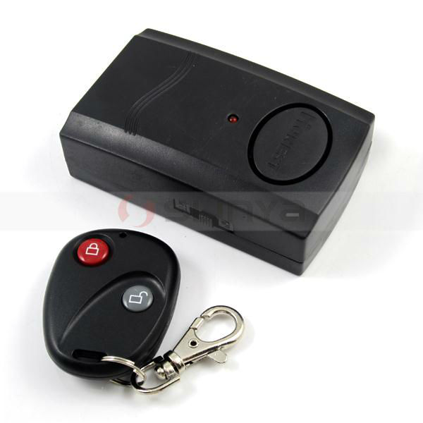 Mini Car Key Home Door Security Move Detector Remote Control Alarm