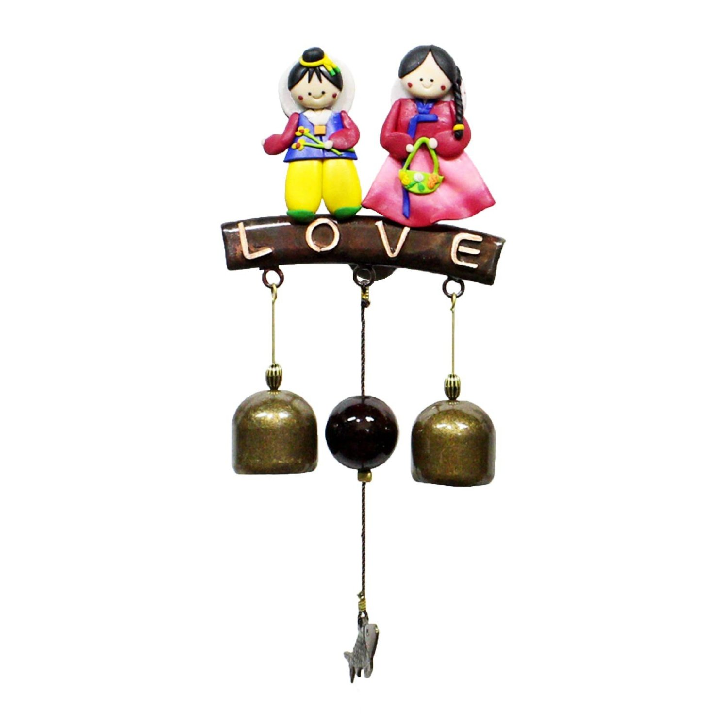 Cheap Store Door Chime Find Deals On Line At How To Add A Second Doorbell Get Quotations Bell Love Kids Dcor Wind Copper Shop Keeper 0203