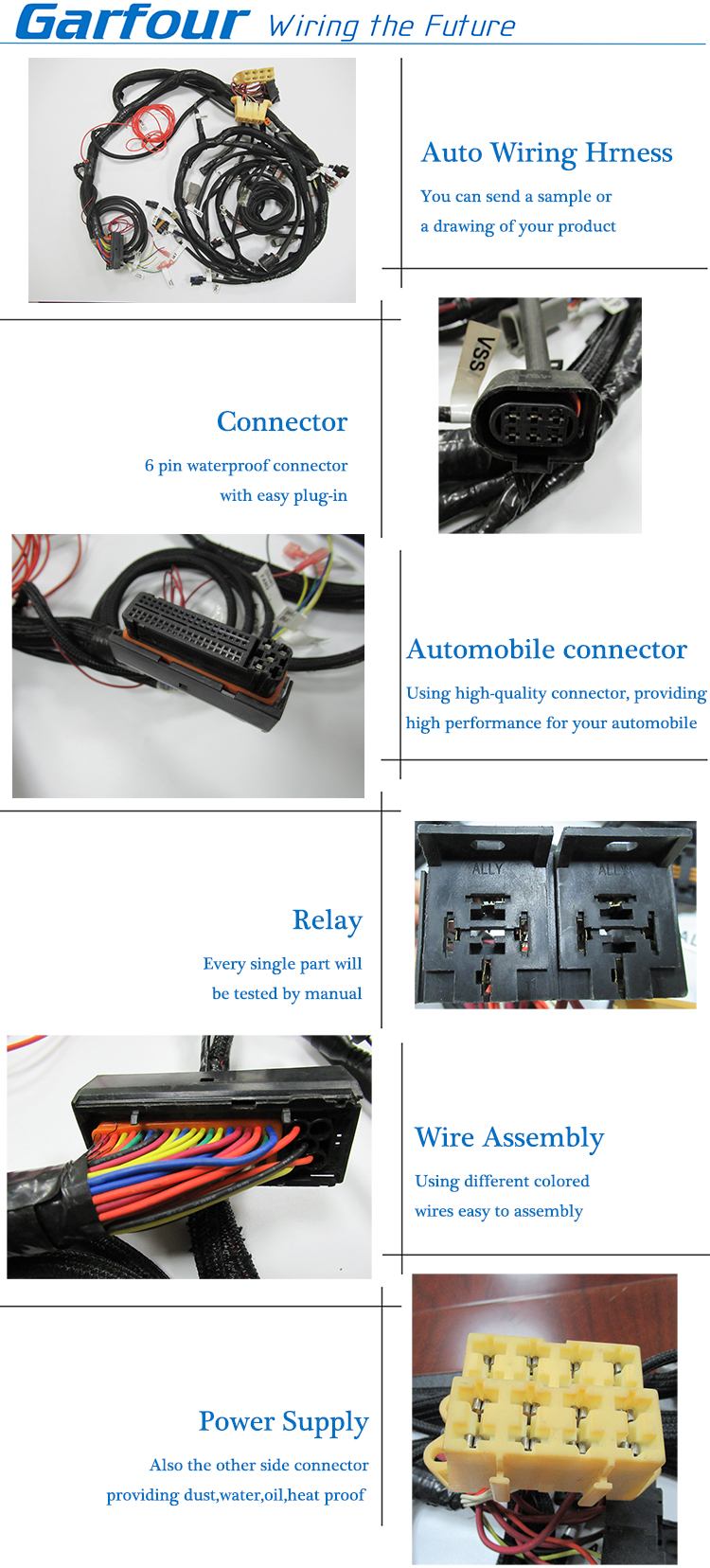 Car Engine Wiring Harness Custom For Automobile Application Wire Waterproof E Snowmobile Cable Scooter