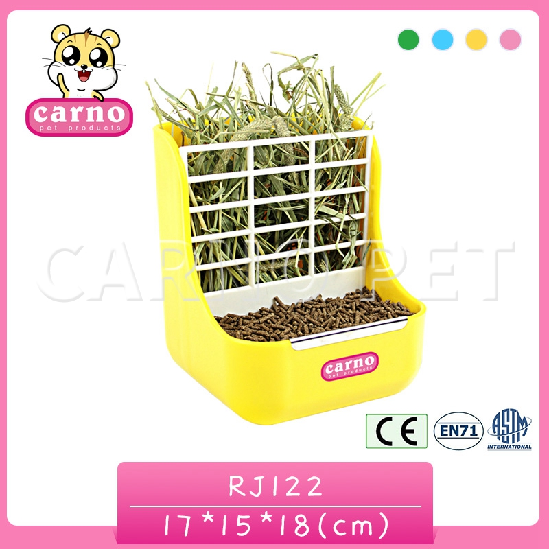 Carno factory supply two-in-one fixable small pet hay cage