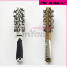 Wholesale Professional Salon Plastic Cylinder Hair Brush