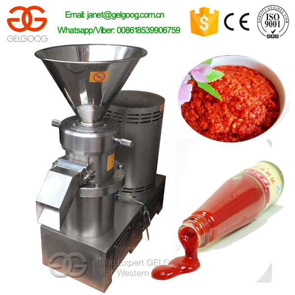 Chili Paste Processing Plant Manufacturers/Chili Sauce Making Machine