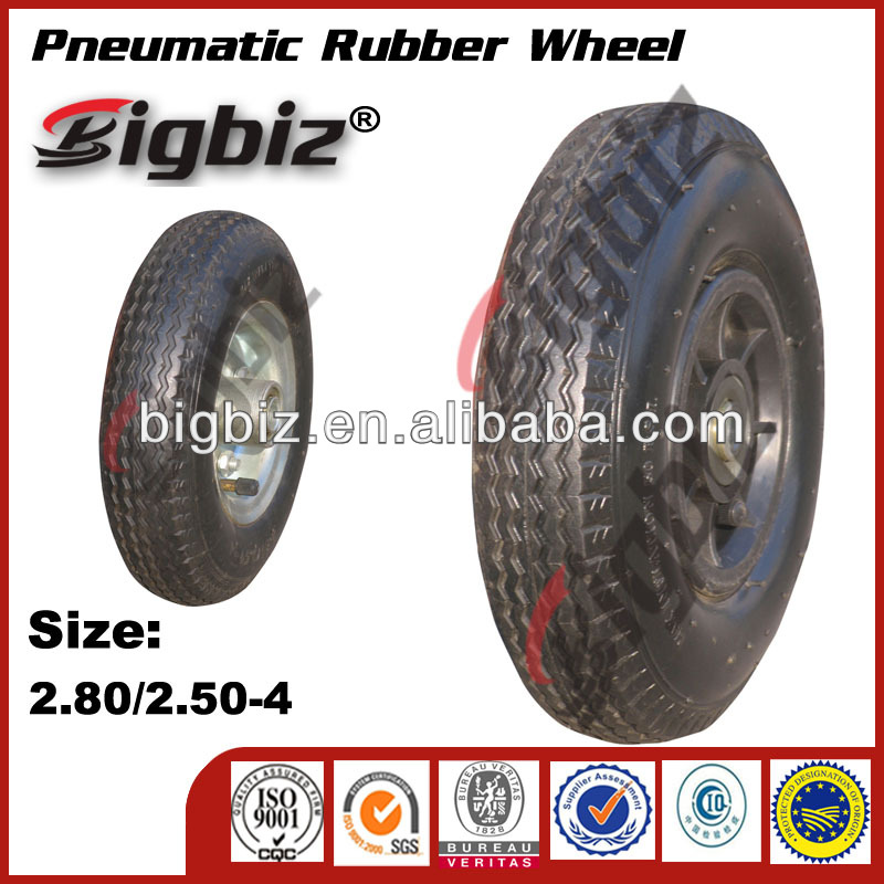 Super High Quality Small Rubber <strong>Wheel</strong> 2.80/2.50-4