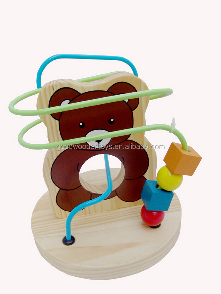 Bestselling Toy Brands On Amazon Com: En71 Promotional Discounts Wooden Beads Toys Oem/odm