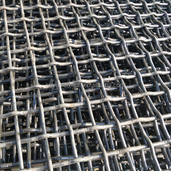 export carbon steel screen mesh abrasion resistant 65Mn vibrating mesh screen