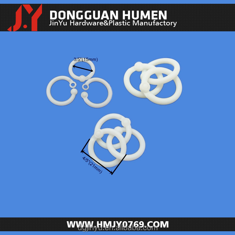 plastic ring/plastic curtain ring/plastic round ring for 32mm size