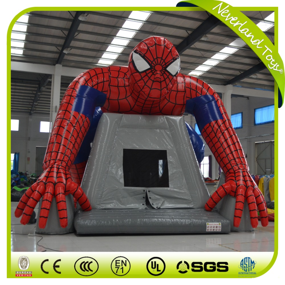 Superhero Inflatable Bouncy CastleSpiderman Inflatable Bounce House - Buy Spiderman Inflatable Bounce HouseCheap Bounce HousesBig Bounce Houses For Sale ... & Superhero Inflatable Bouncy CastleSpiderman Inflatable Bounce ...